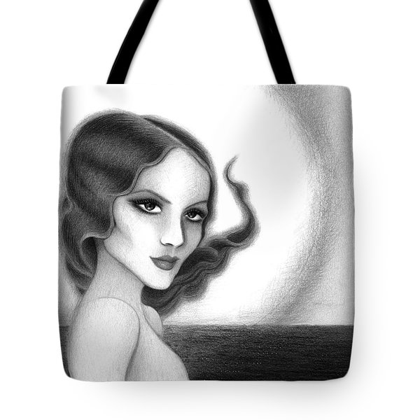 August Honey Colorless Tote Bag