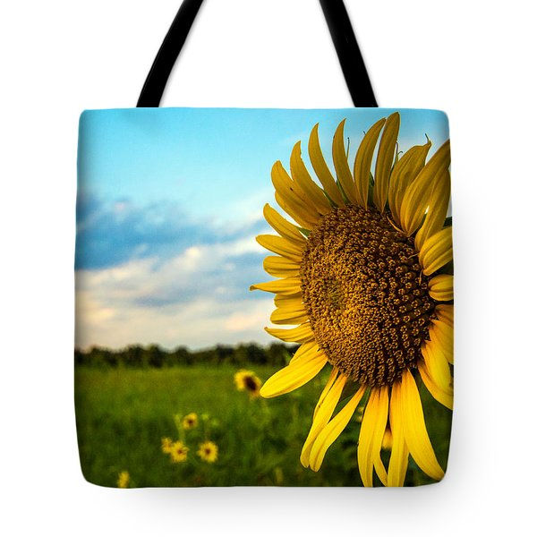 August Icon  Tote Bag by John Harding