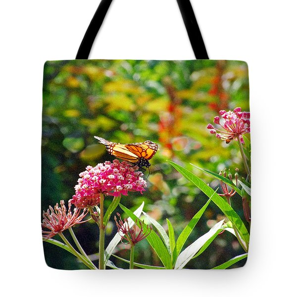 August Monarch Tote Bag