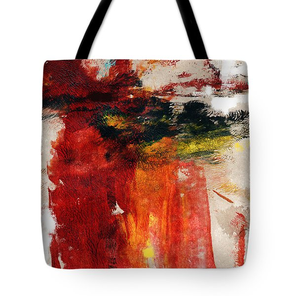 August Night- Abstract Art By Linda Woods Tote Bag