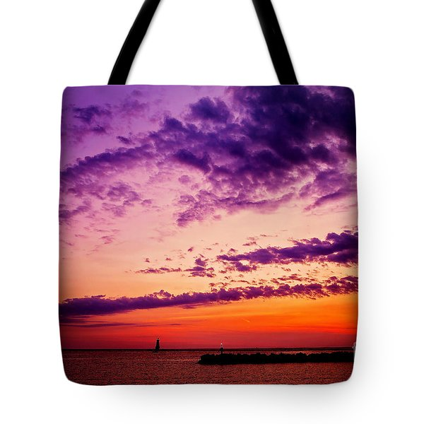 August Night Tote Bag