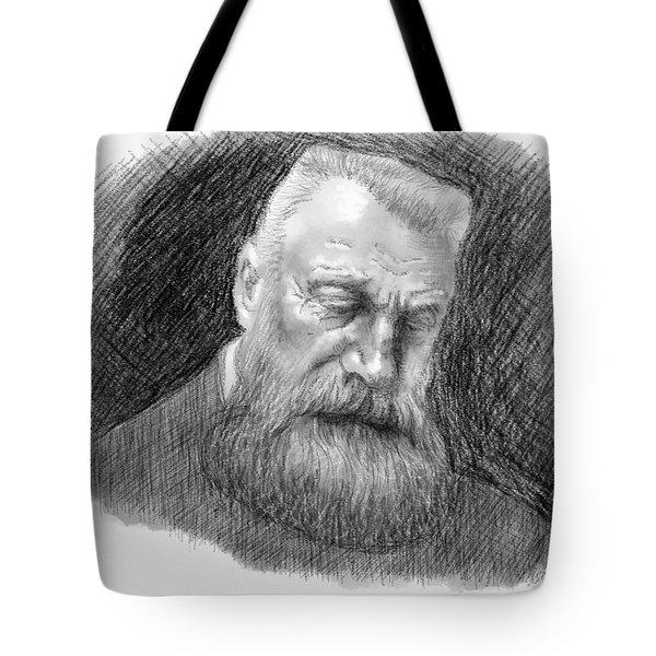 Auguste Rodin Tote Bag