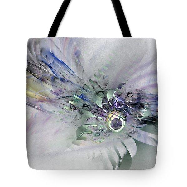 August Silk - Fractal Art Tote Bag