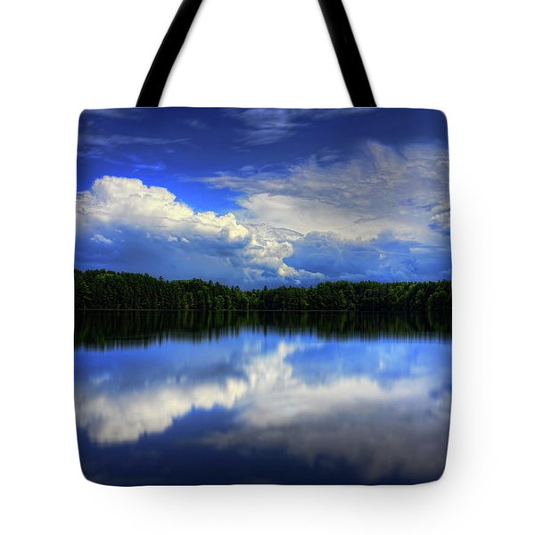 August Summertime On Buck Lake Tote Bag