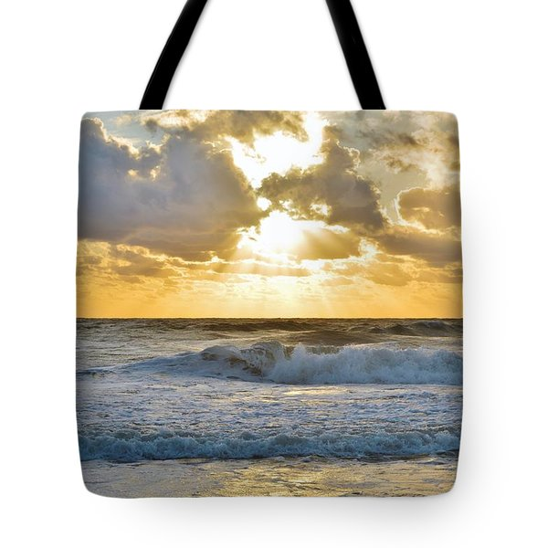 August Sunrise Tote Bag
