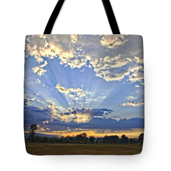 August Sunrise Tote Bag