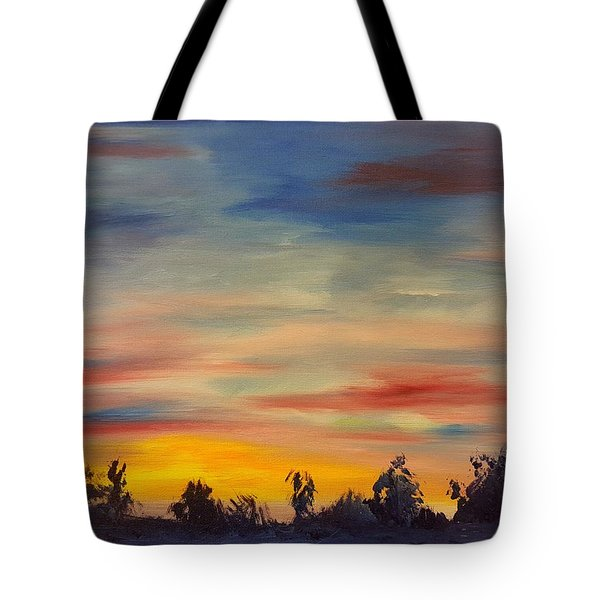 August Sunset In Sw Montana Tote Bag