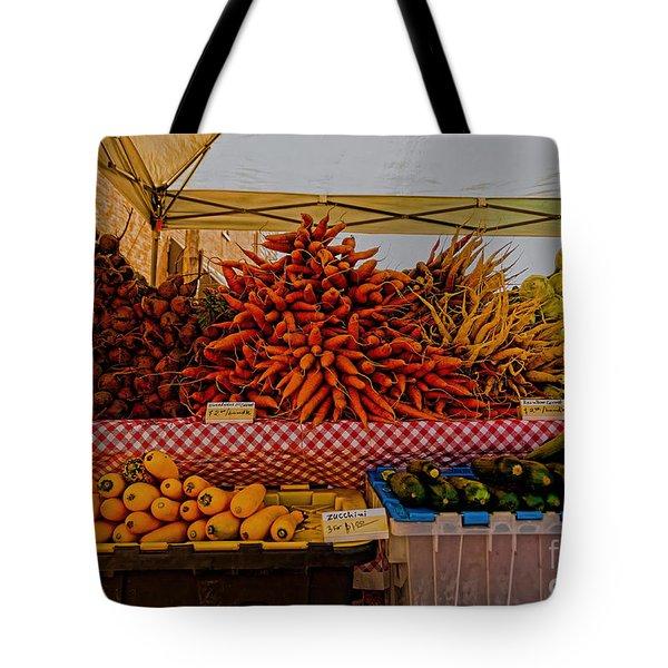 August Vegetables Tote Bag