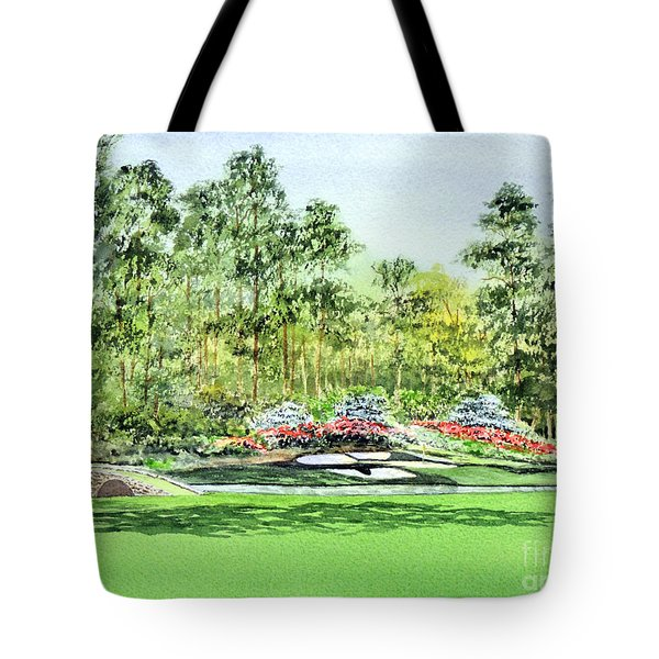 Augusta National Golf Course Tote Bag