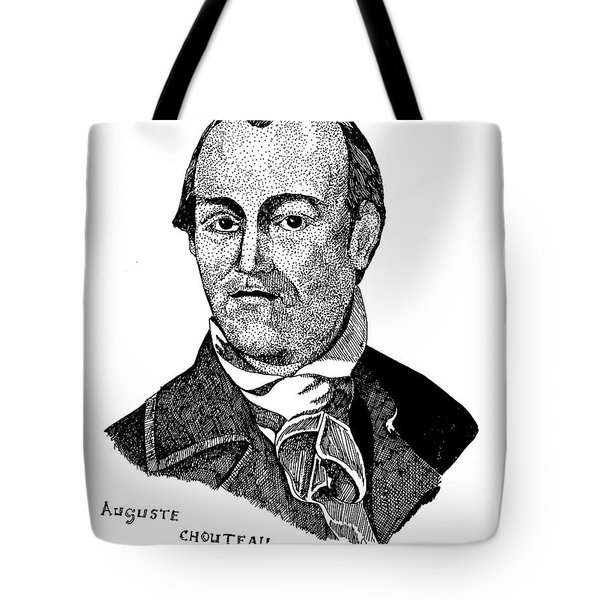 Auguste Chouteau Tote Bag