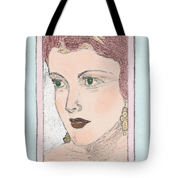 Aunt Edie Tote Bag