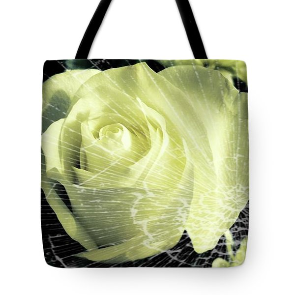 Aunt Edna's Rose Tote Bag