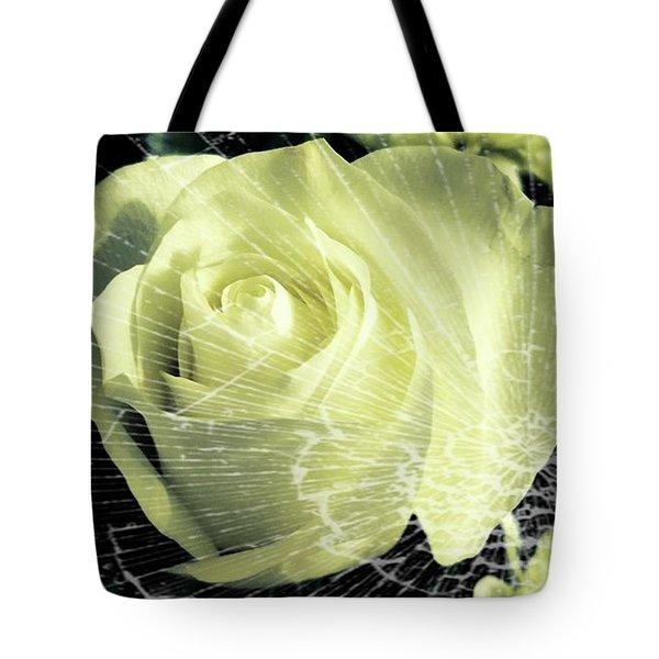 Aunt Edna's Rose Tote Bag by Rachel Hannah