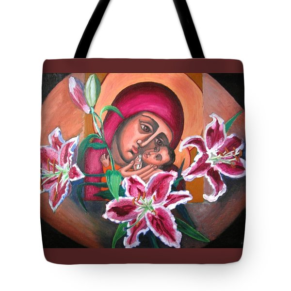 Aunt Katya's Icon Tote Bag