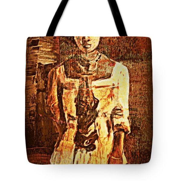 Auntie Tote Bag by Vannetta Ferguson