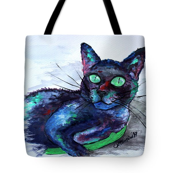 Aunt's Beautiful Companion, Ms. Biscuit Tote Bag