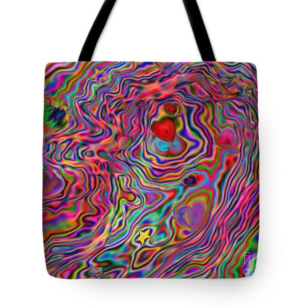 Aura Lights Tote Bag by Roxy Riou