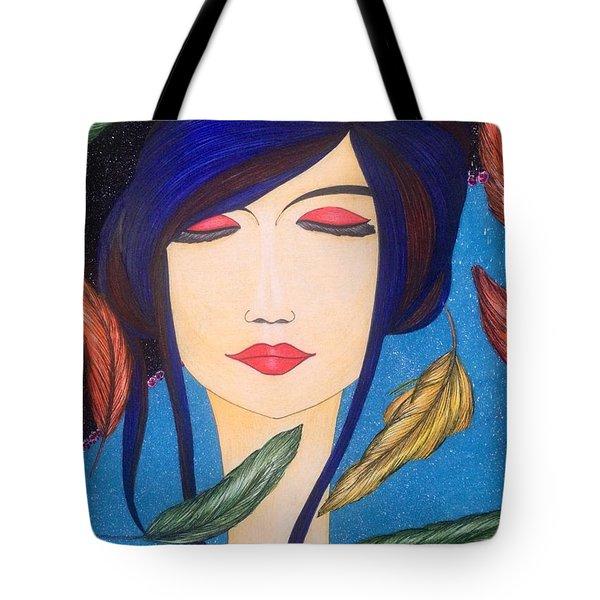 Aura Of Peace. Tote Bag