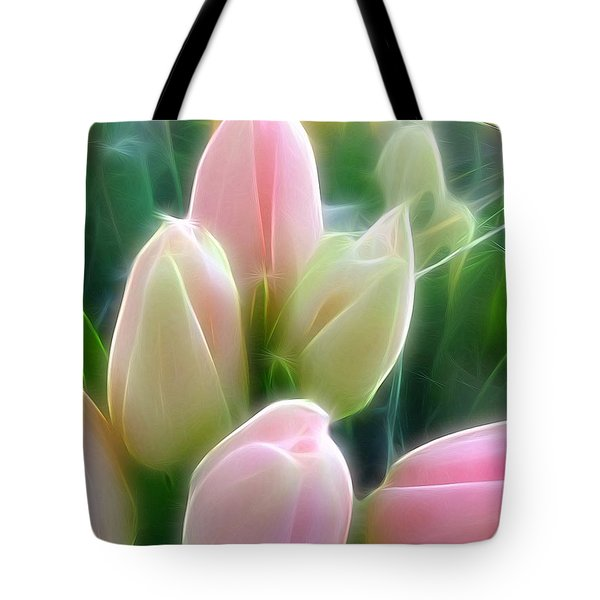 Aura Of Tulip Tote Bag