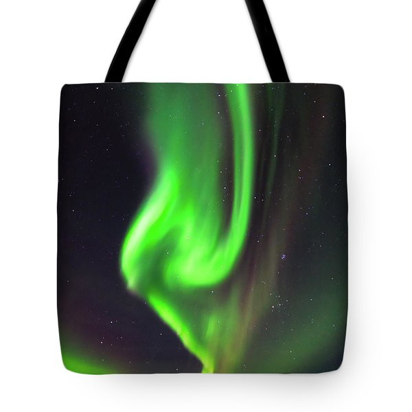 Tote Bag featuring the photograph Aurora Burst by Allen Biedrzycki