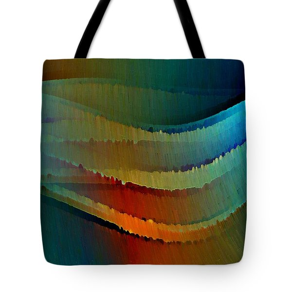 Tote Bag featuring the digital art Aurora by David Manlove