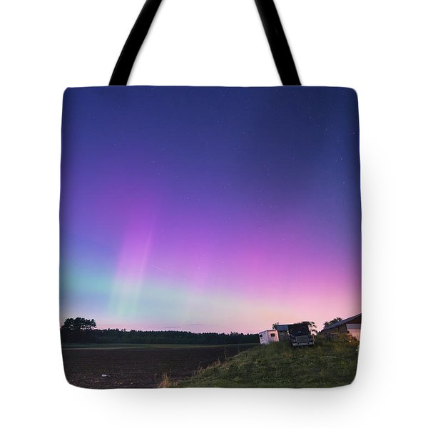 Aurora Energized Pepper Fields Tote Bag