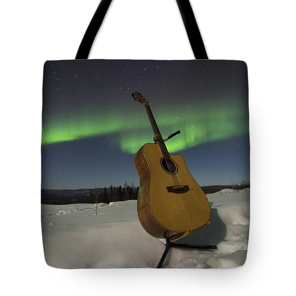Aurora Instrumentalis Tote Bag