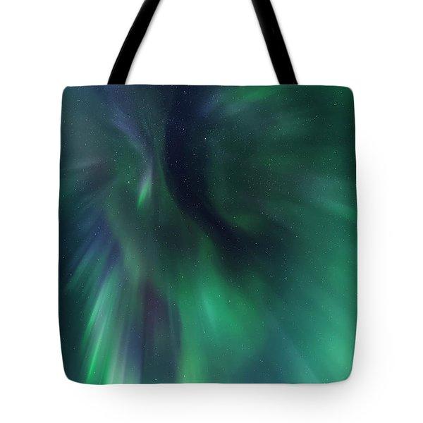 Aurora Kaleidoscope Tote Bag
