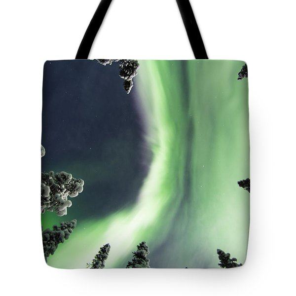 Aurora Lying On Your Back Tote Bag