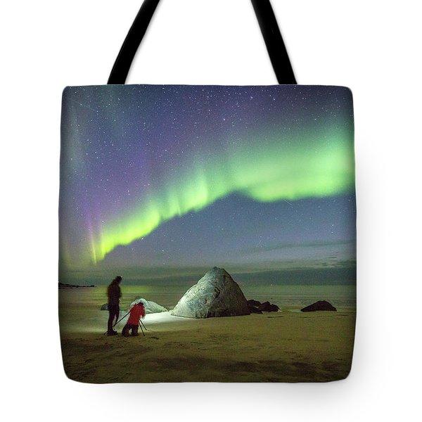 Aurora Photographers Tote Bag