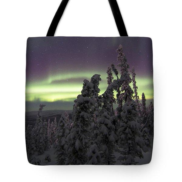 Auroral Horizon Tote Bag