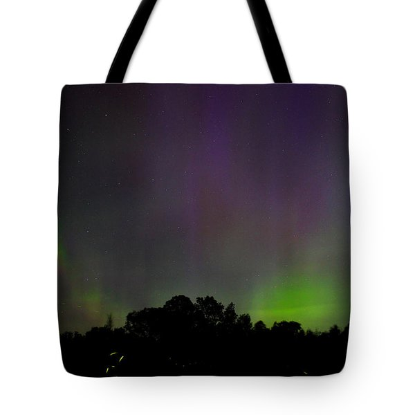 Aurora's And Fireflies Tote Bag
