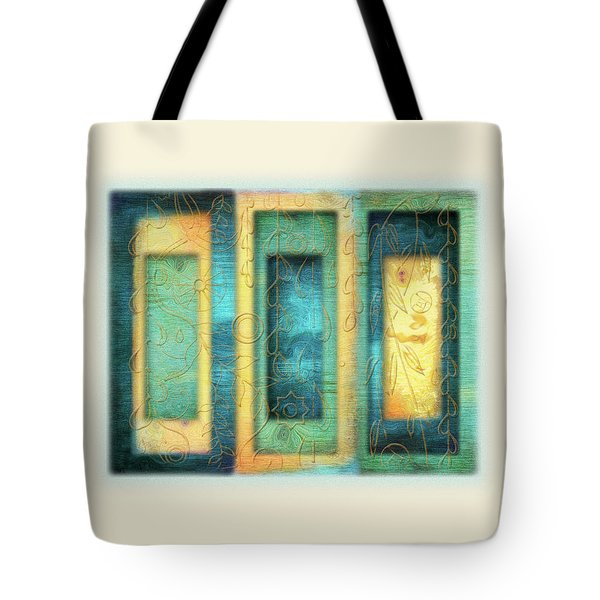 Aurora's Vision Tote Bag by Deborah Smith