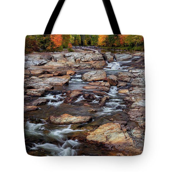 Tote Bag featuring the photograph Ausable by Mark Papke