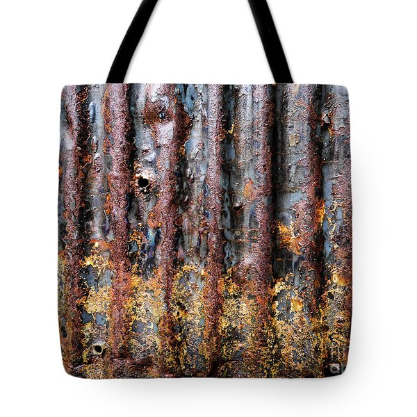Aussie Galvanised Iron #12 Tote Bag