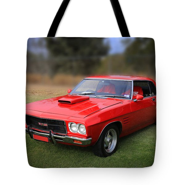 Tote Bag featuring the photograph Aussie Muscle by Keith Hawley