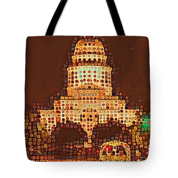 Austin Capitol At Night Tote Bag
