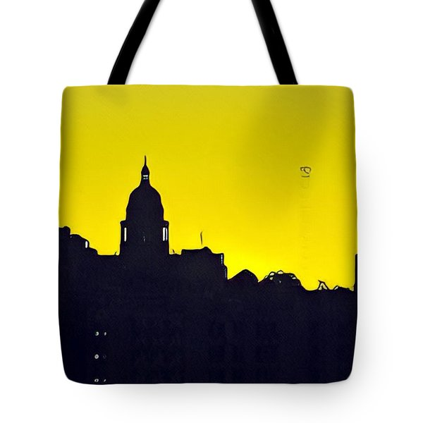 Austin Capital At Sunrise Tote Bag