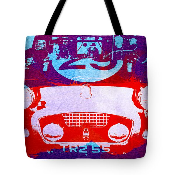 Austin Healey Bugeye Tote Bag