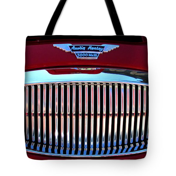 Austin Healey Grille Tote Bag by Spyder Webb