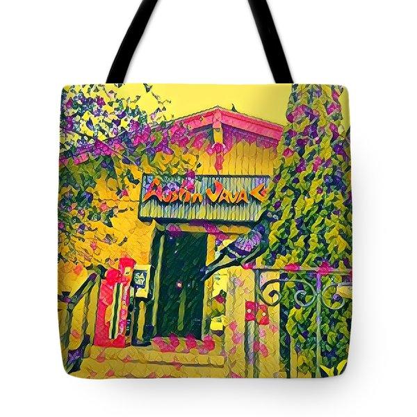 Austin Java Electric Tote Bag