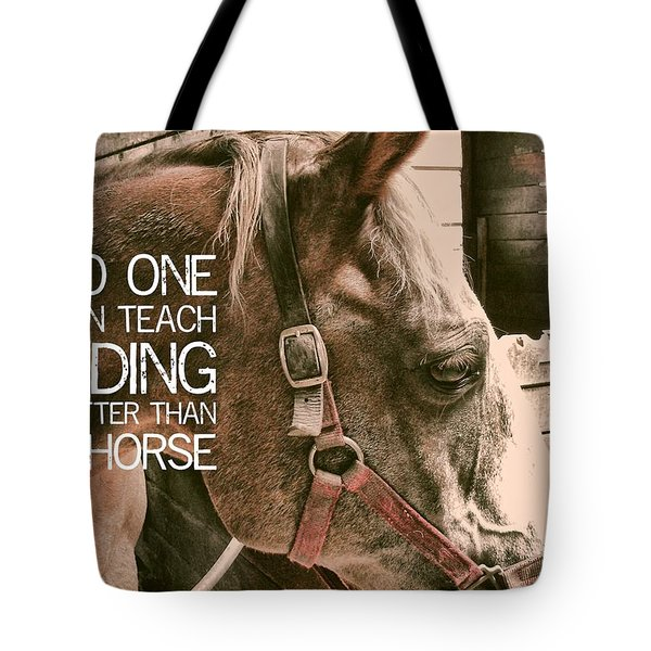 Austin Quote Tote Bag