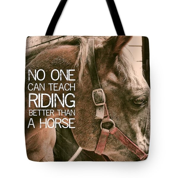 Austin Quote Tote Bag