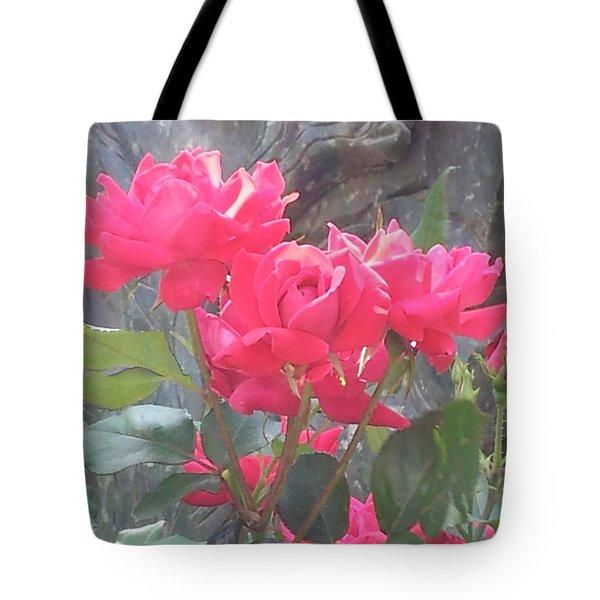 Austin Roses Tote Bag