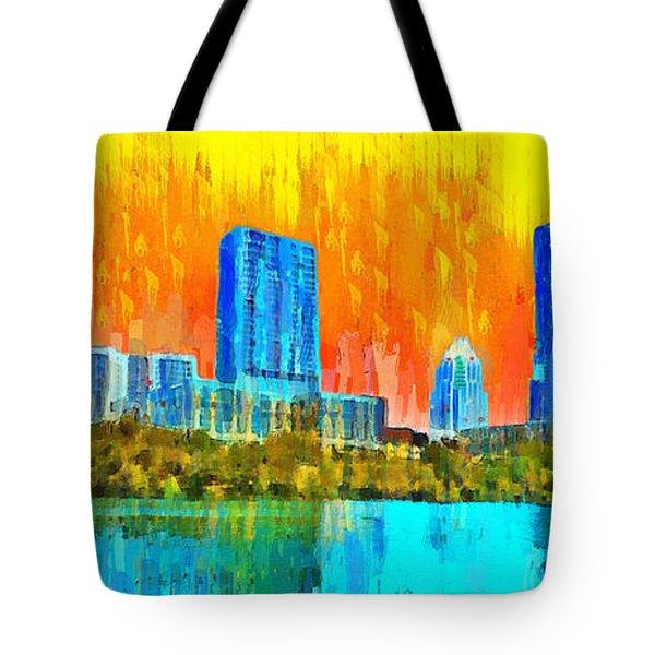 Austin Skyline 315 - Pa Tote Bag