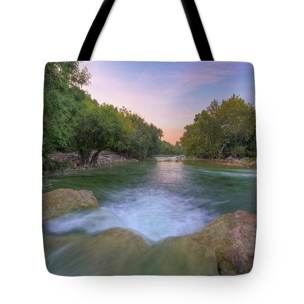 Austin Texas Barton Creek Greenbelt 3 Tote Bag
