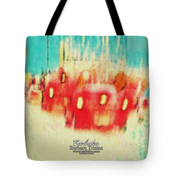 Tote Bag featuring the photograph Austin Traffic by Barbara Tristan