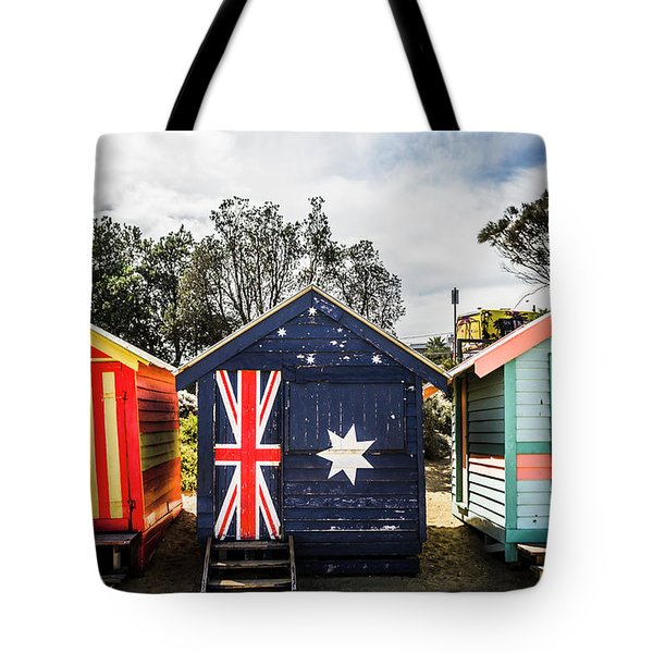 Australia Bathing Boxes Tote Bag