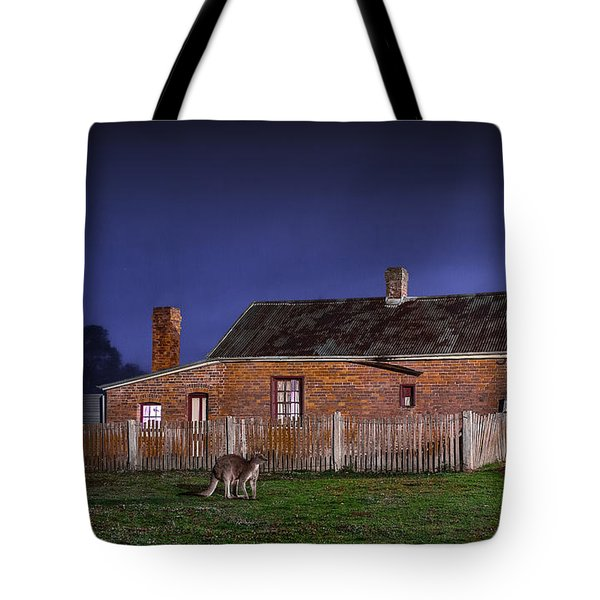 Australia By Night Tote Bag