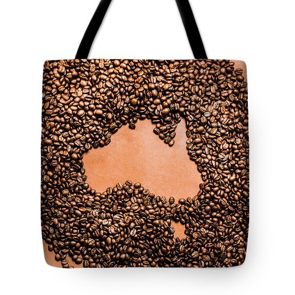 Australia Cafe Artwork Tote Bag